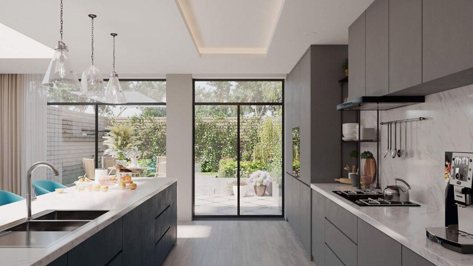Large House Extension Designed under Larger Home Extension Scheme