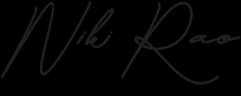 Niki Rao Signature